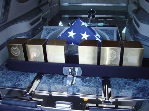The Missing in America Project helps inter cremated remains of unclaimed veterans.