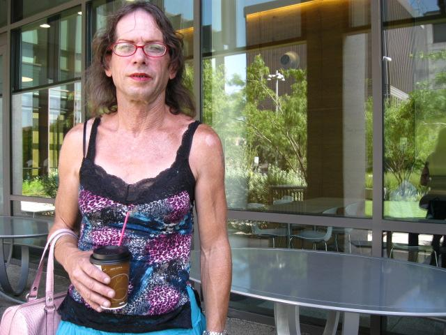 Michael McCrory says his former landlord wanted him to apply for disability benefits for being transgender.