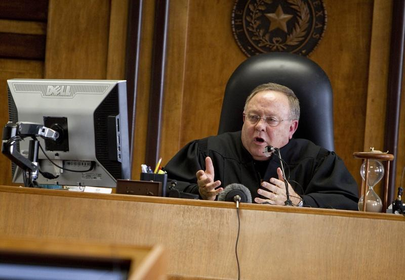 Judge John Dietz heard closing arguments Friday in the Texas school finance trial. He says he expects to make a final ruling in the spring.