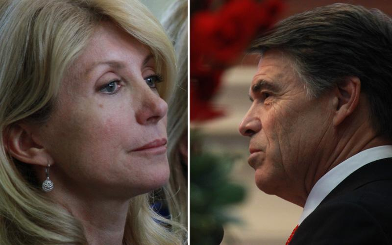 State Sen. Wendy Davis and Gov. Rick Perry are reaching out to supporters around the abortion legislation debate.
