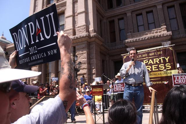 U.S. Senator Ted Cruz (pictured) has risen to Tea Party prominence nationally. A recent survey of Texas voters shows that the party is here to stay.