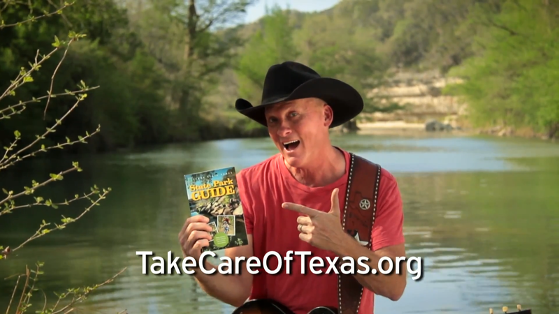 "Kevin Fowler is the face of the new ""Take Care of Texas"" campaign."