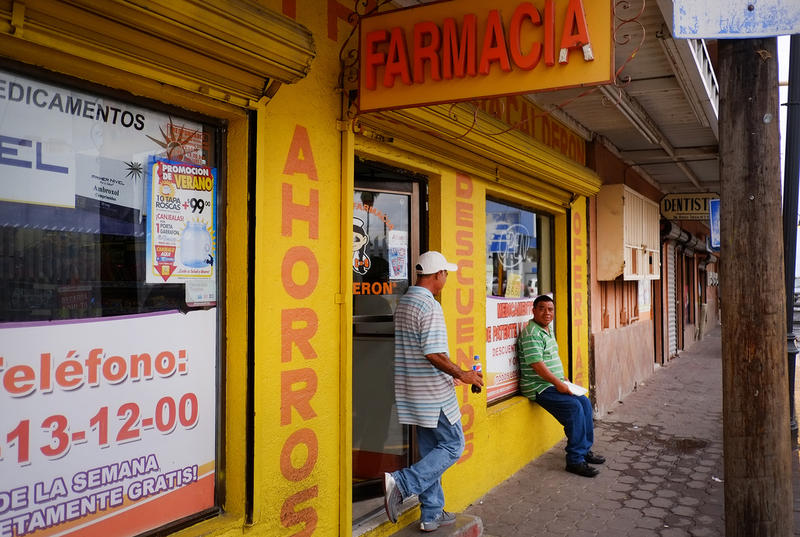 Entire streets are lined with pharmacies and doctors' offices. Some offices are no bigger than a large cubicle, but doctors perform all sorts of procedures – even abortions. Signs on the doors and windows advertise if a doctor is also an anesthesiologist.