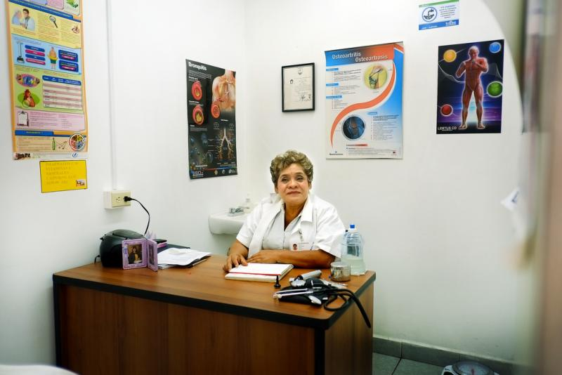 Dr. Celia Gomez moved her practice to Nuevo Laredo from southwest Mexico. She's opposed to abortion and doesn't perform them. But she says she's saddened women that leave her clinic to get an abortion may end up with less scrupulous doctors.