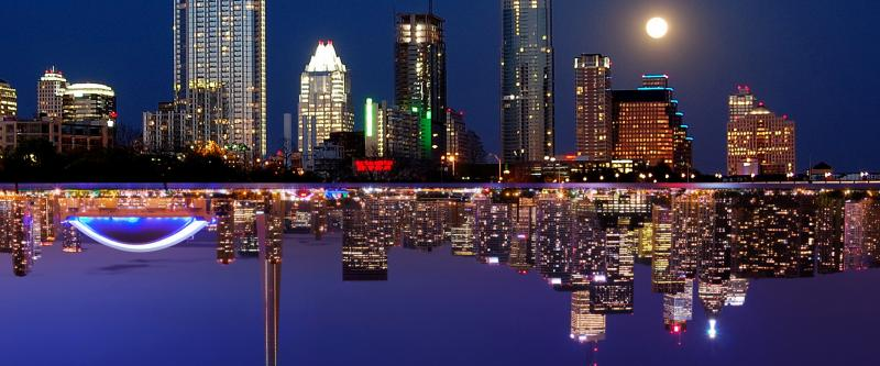 Mirror images? Austin and Toronto may become the sister cities of the music industry.
