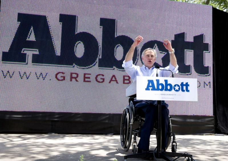 Attorney General Greg Abbott begins his run for Governor in San Antonio.