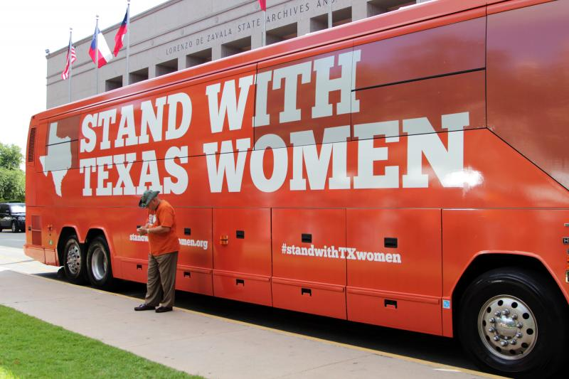 Planned Parenthood will embark on a statewide bus tour to protest proposed abortion limitations.