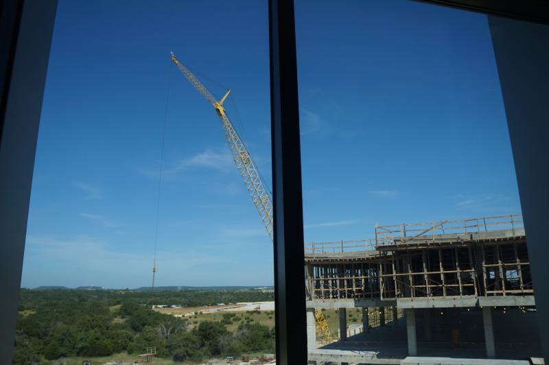 The new building for Texas A&M-Central Texas under construction in July 2013. It's scheduled for completion in 2014.