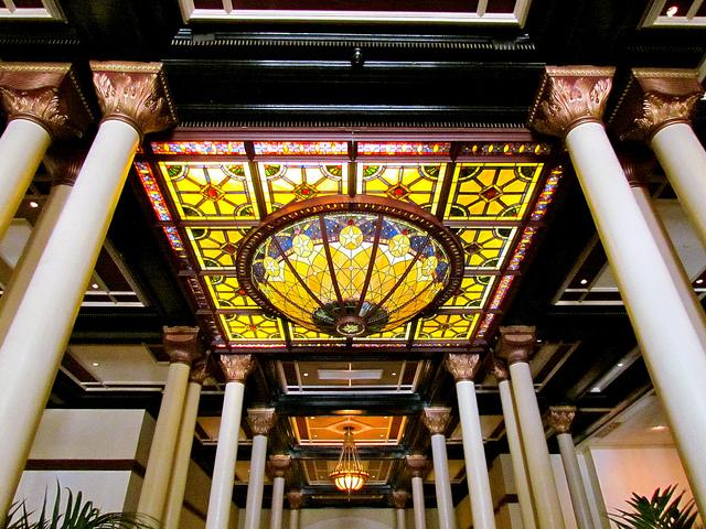 "The Driskill Hotel and its ""grand dame charm"" was one reason Austin was ranked as one of the top 20 ""snobbiest"" cities in the United States."