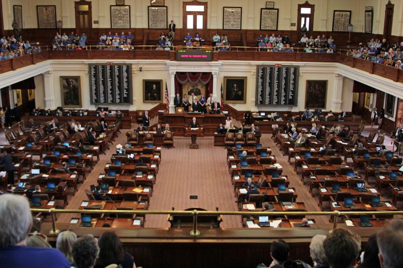 The Texas House gavelled yesterday at 10 a.m. with only one bill on their calendar: HB 2, which would limit abortions across Texas. The House began hearing the bill shortly after 10:30 a.m.