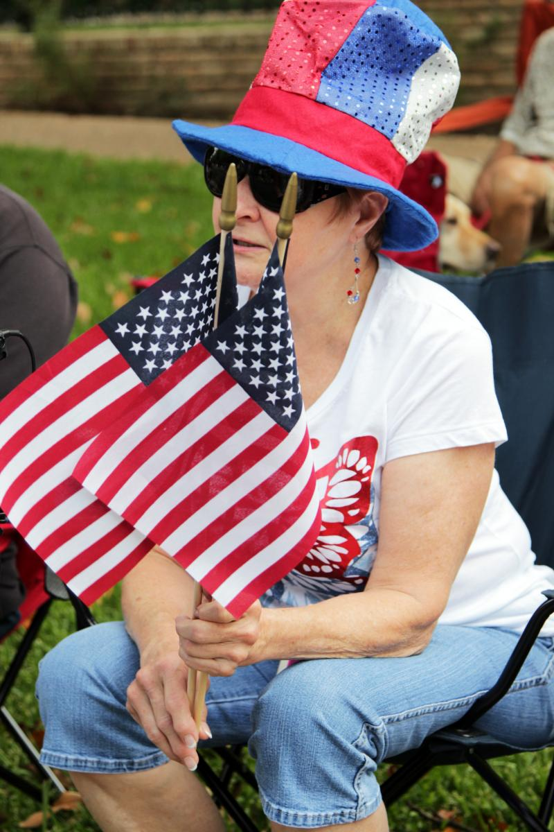 Onlooker Margie Horton said she enjoyed watching her grandchildren in the parade.