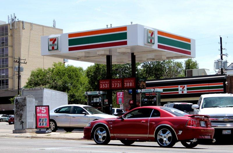 The south campus 7-Eleven location. Austin had the first 24-hour location of the company.