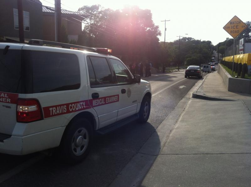 The Travis County Medical Examiner is on the scene