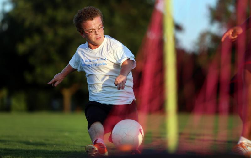 Sam Bremen's strongest sport is soccer, but he'll be competing in several other sports at the World Dwarf Games.