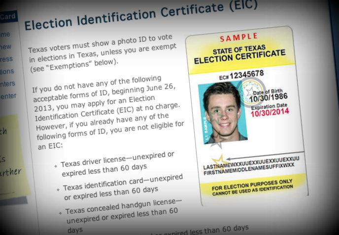 After a decision weakening the Voting Rights Act, Texas implemented a controversial Voter ID law.