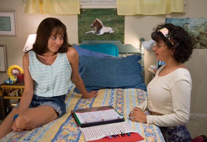 "Aubrey Plaza (L) and Alia Shawkat in ""The To Do List,"" which opens July 26 nationwide."
