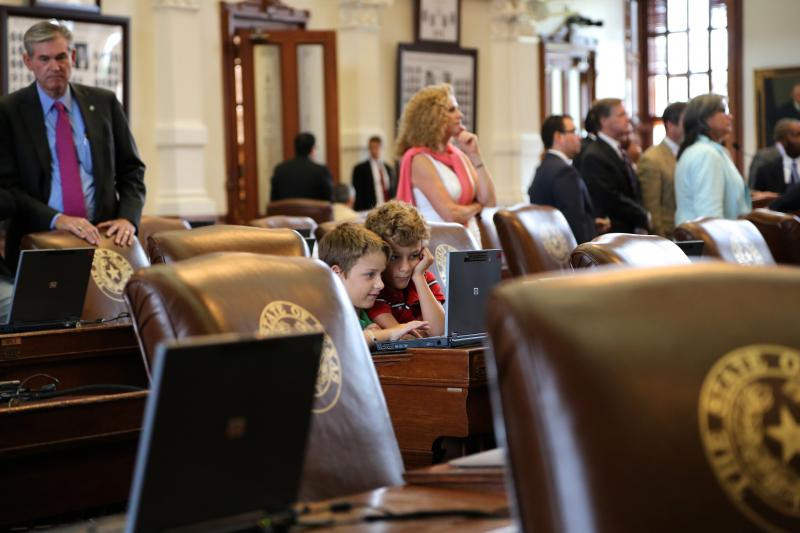 The Texas House began the second 2013 special session on July 1, 2013, amid public displays of support and opposition to abortion legislation.
