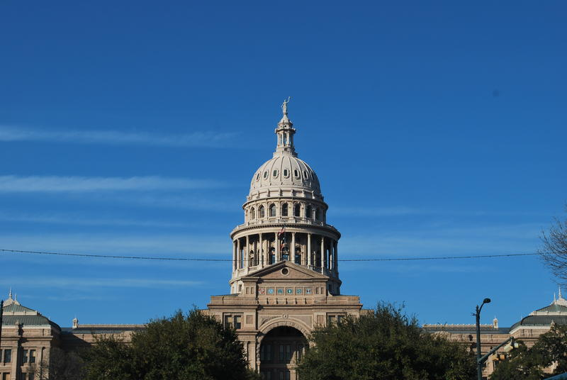 The State Capitol in Austin, Texas.