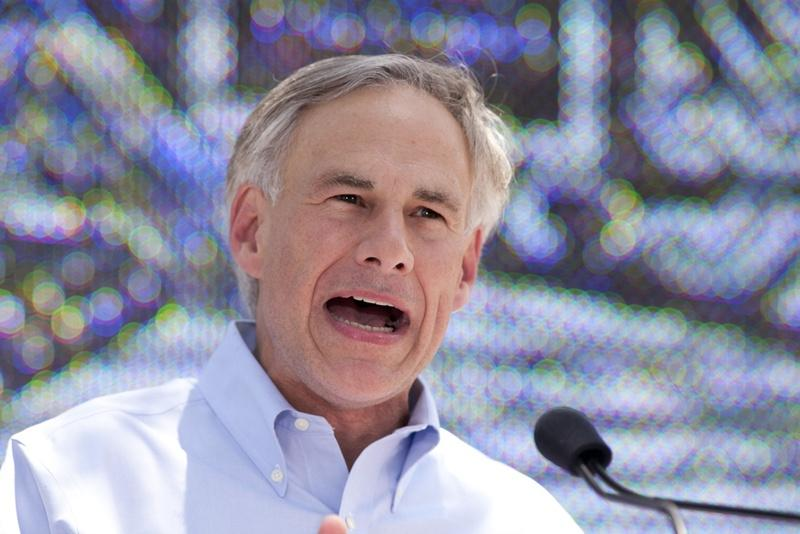 Greg Abbott announces his candidacy for Texas governor at LaVillita in San Antonio on July 14, 2013.