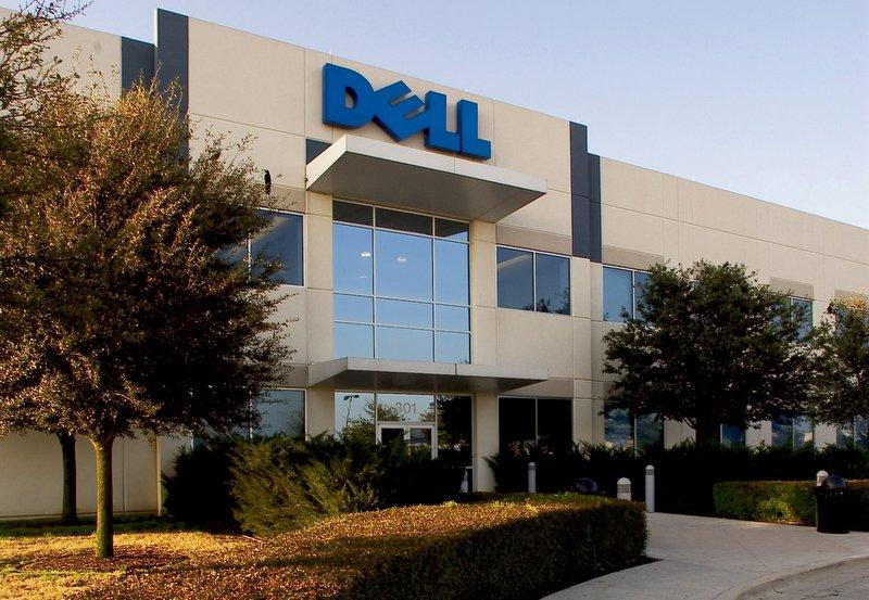 Dell's corporate headquaters in Round Rock. The company has announced layoffs, but hasn't said how many employees are affected.