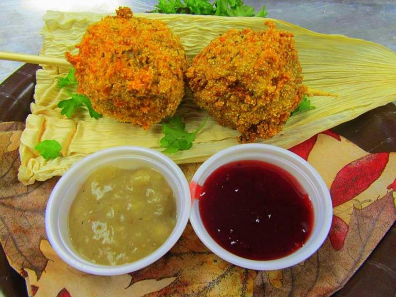 Fried Thanksgiving Dinner is one of the nominees for the Big Tex Choice Awards at the 2013 State Fair of Texas in Dallas.