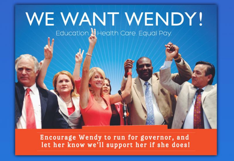 With the launch of a draft-style website, pressure is building for Sen. Wendy Davis to make gubernatorial run in 2014.