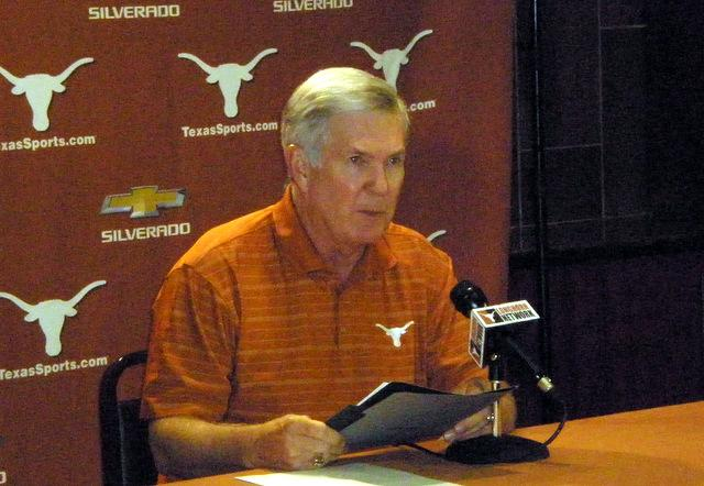 At his weekly press conference today, Mack Brown explained it was his choice to fire Manny Diaz.