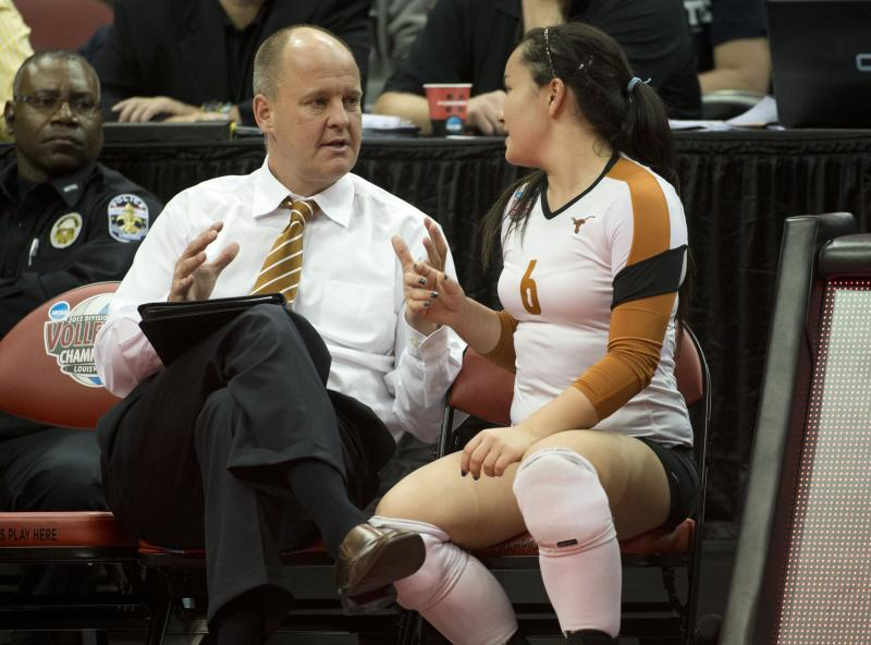 At a school that spends and makes more than any other college on athletics, volleyball coach Jerritt Elliott has run the most successful program.