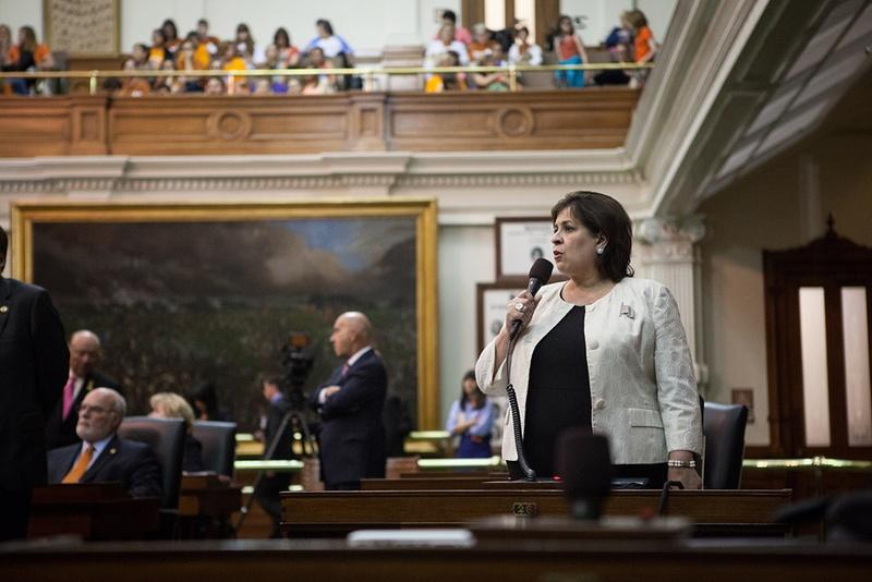 State Sen. Leticia Van de Putte could fill out a 2014 slate of Democratic candidates, including her Senate colleague Wendy Davis.