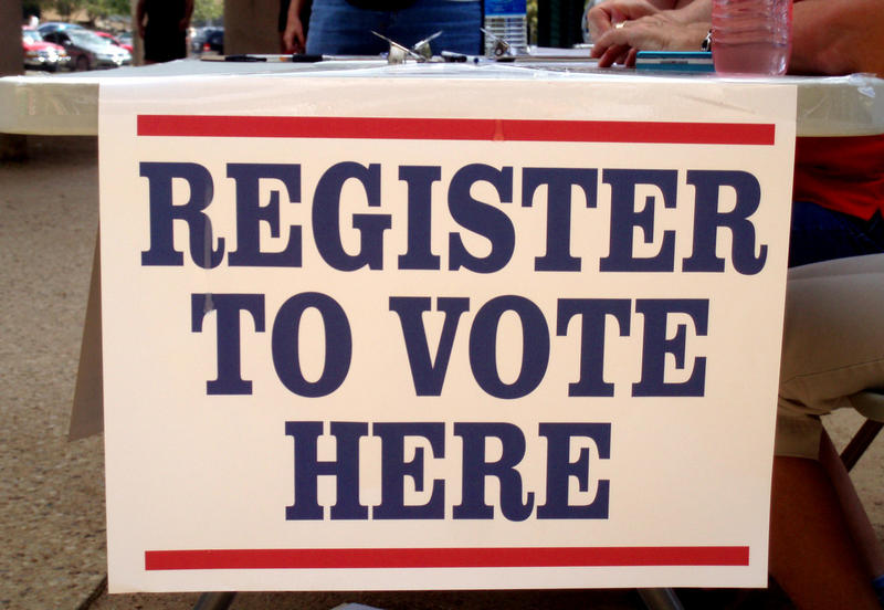 Volunteers looking to register eligible voters can now search individual voting precincts by map.