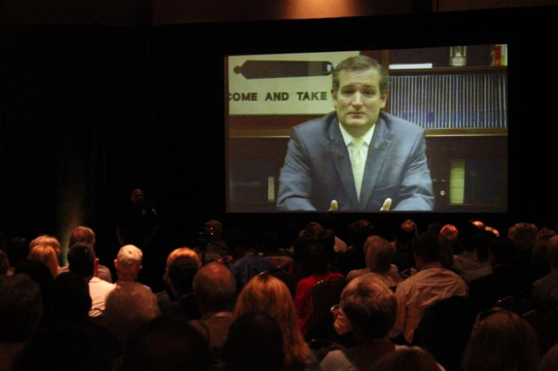 Sen. Ted Cruz packed the AT&T Center at UT-Austin to talk about his week in Washington