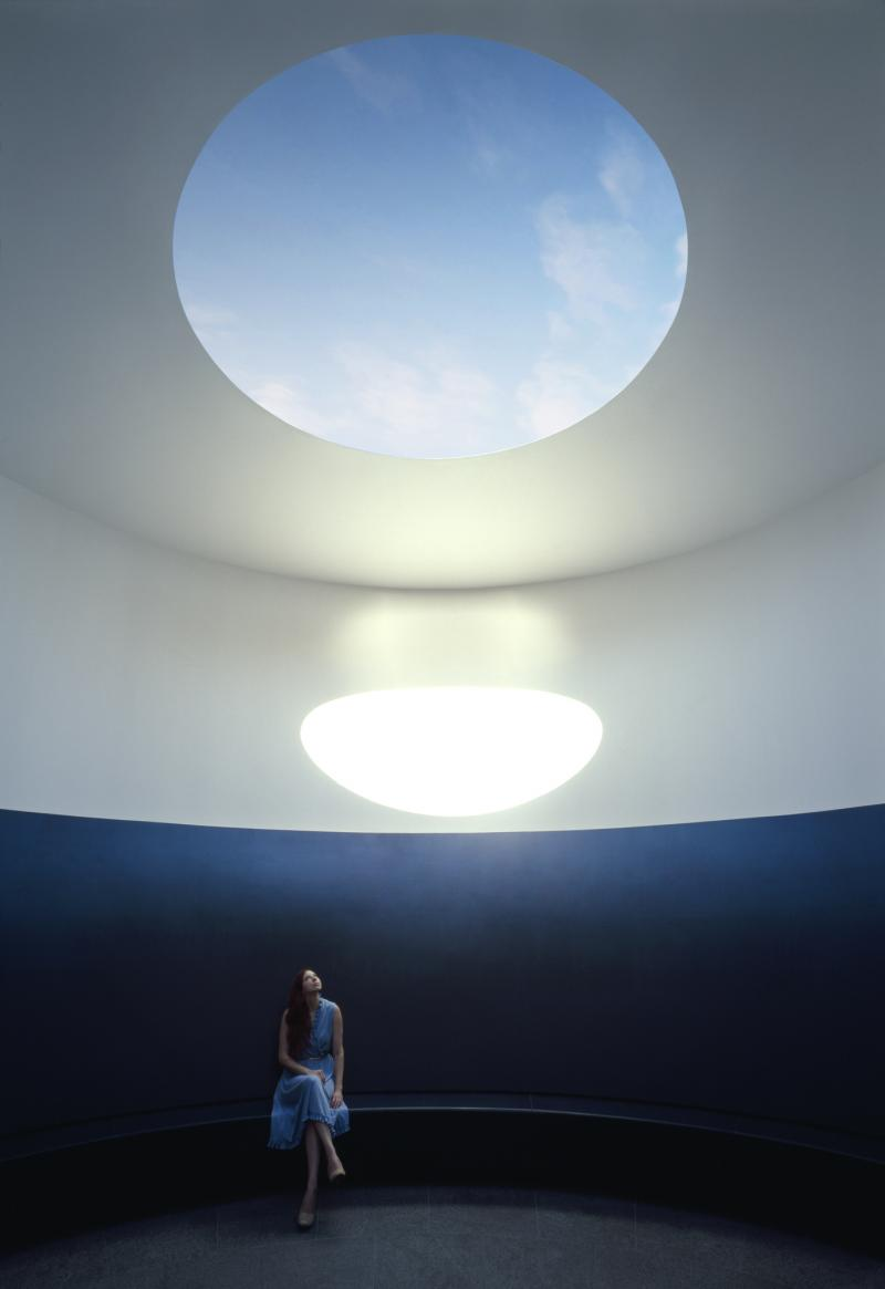 James Turrell, Interior of The Color Inside