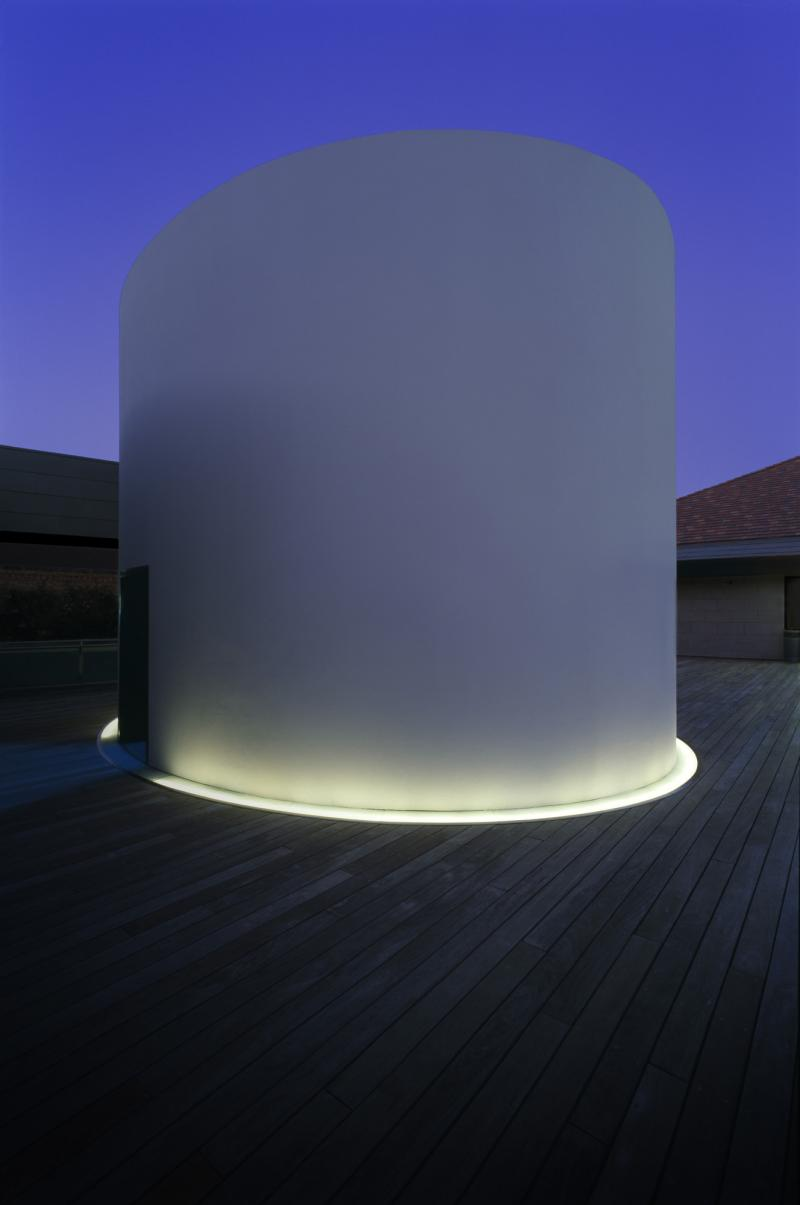 James Turrell, Exterior of The Color Inside, 2013