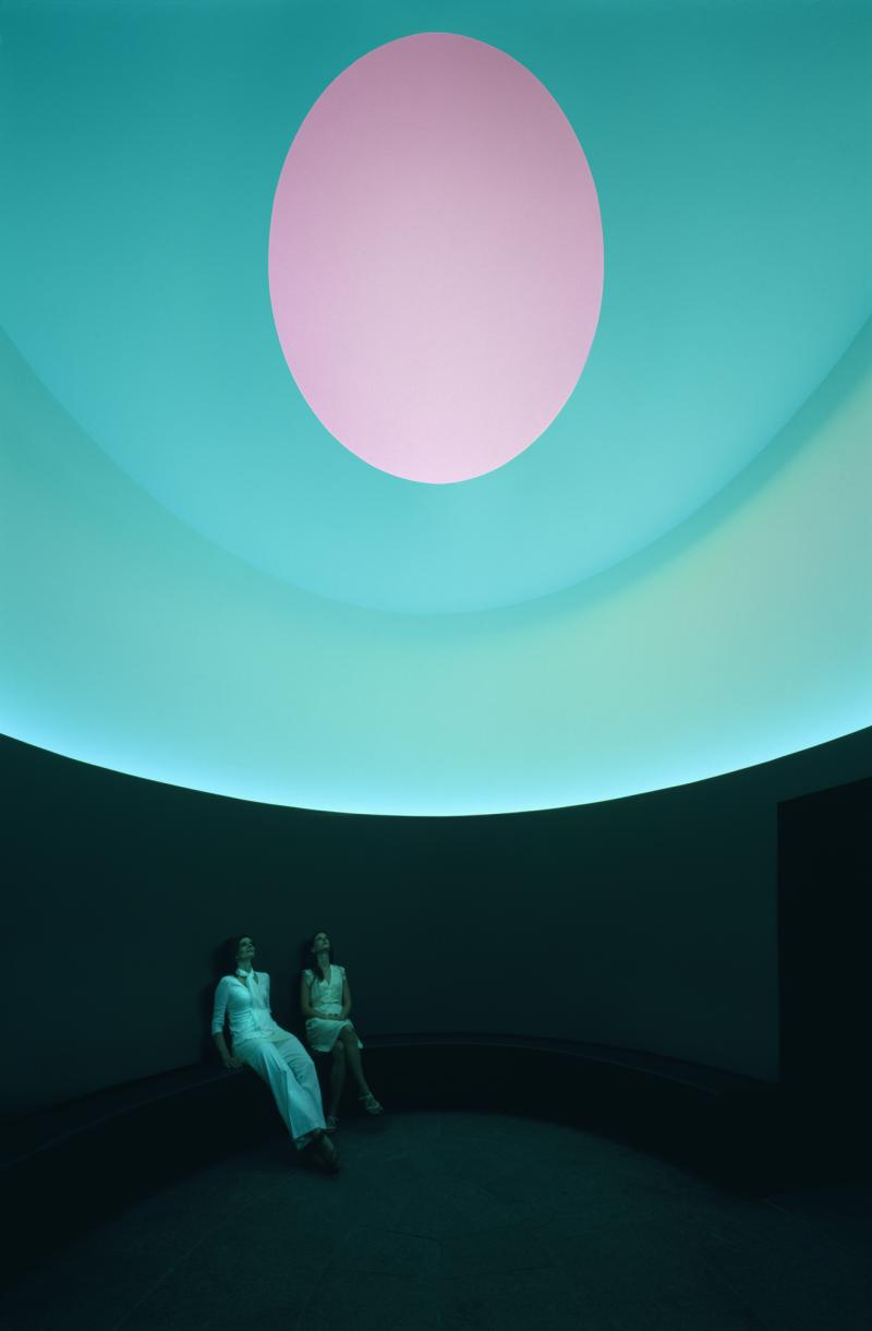 James Turrell, Interior of The Color Inside, 2013