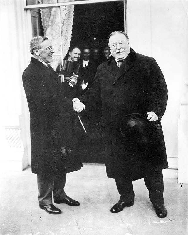 Woodrow Wilson and William Taft. Berg combed through hundreds of thousands of documents in the Wilson Archives for this biography.