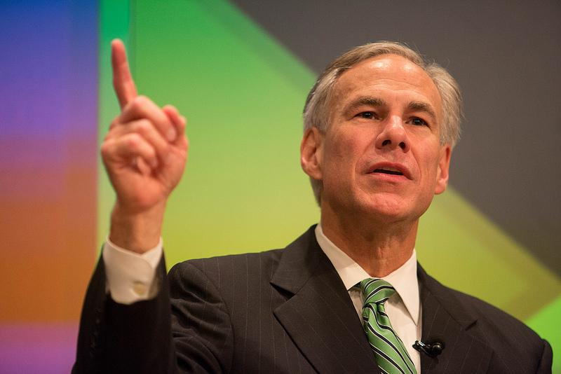 Texas Attorney General Greg Abbott at The Texas Tribune Festival on Sep. 28, 2013. Abbott released his first major policy plan this week.