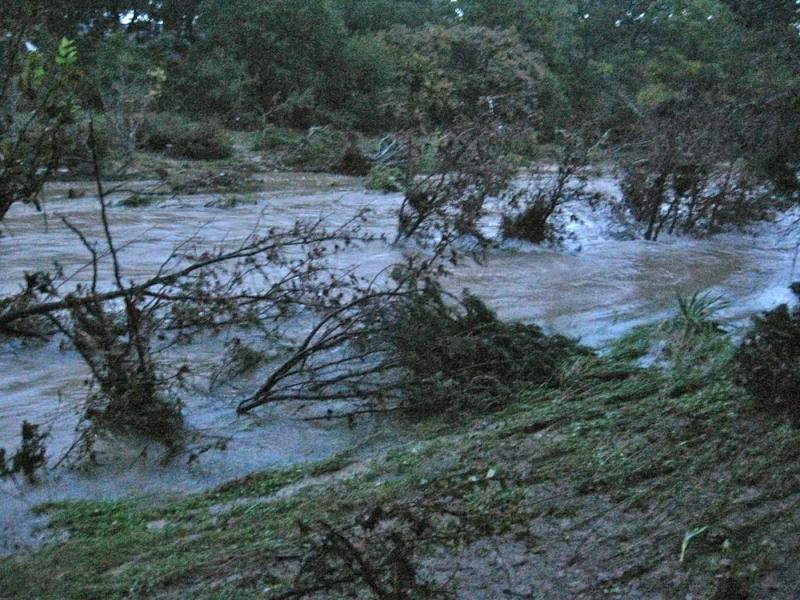 This photo comes from an Austinite near Williamson Creek. It was taken this morning at 7:15 a.m.