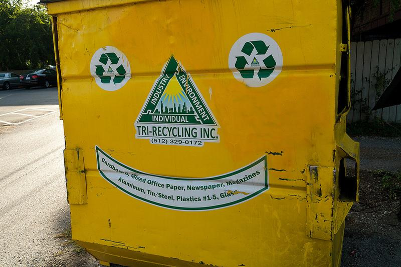 A new phase of Austin's recycling ordinance is making many ecological advocates happy.