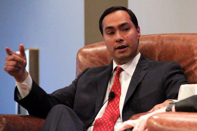 Rep. Joaquin Castro (D-San Antonio), is donating his salary to charity during the shutdown.