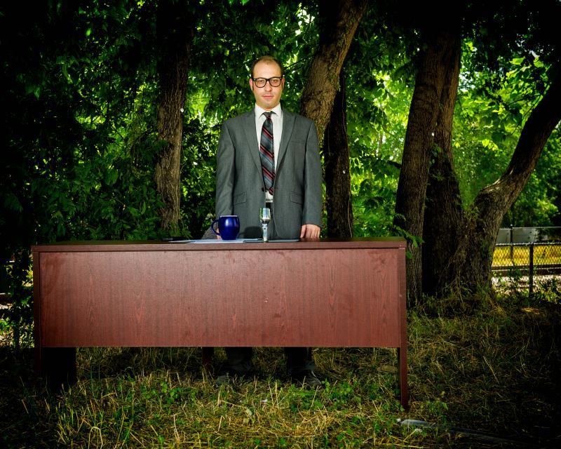 Michael Ferstenfeld as Not Ira Glass