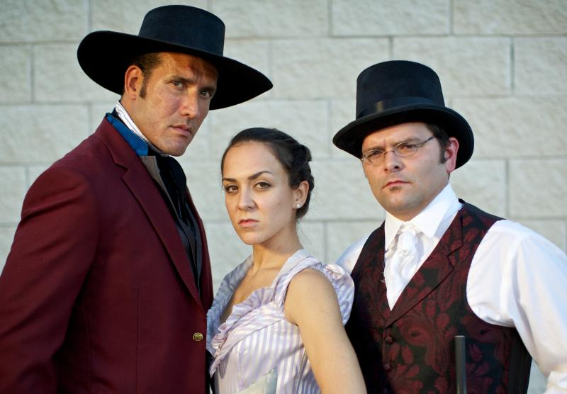 "The cast of ""Alamo Aftermath: A Texas Revolution Operetta"""