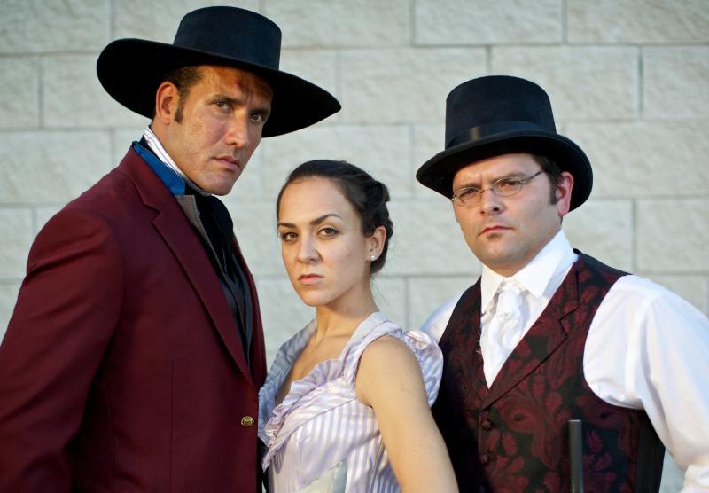 "The cast of ""Alamo Aftermath: A Texas Revolution Operetta"""