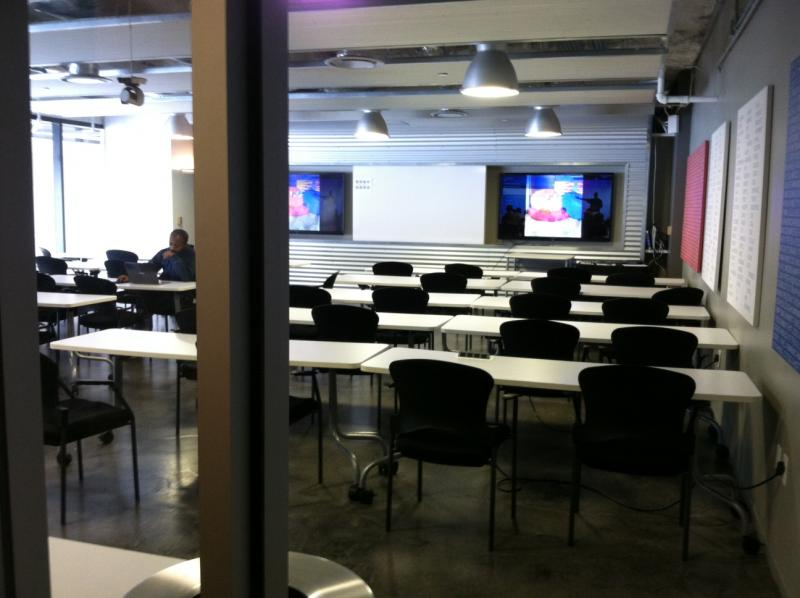 Capital Factory often hosts tech trainings.