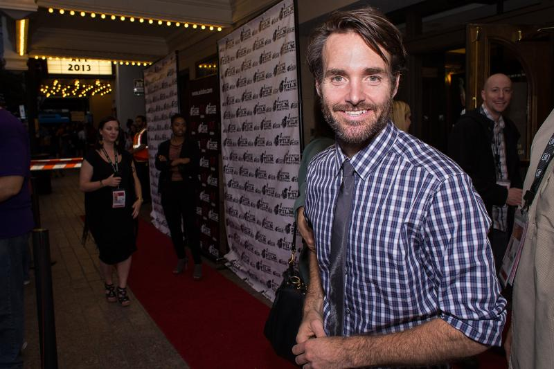 "Will Forte at the Texas Premiere of ""Nebraska."""