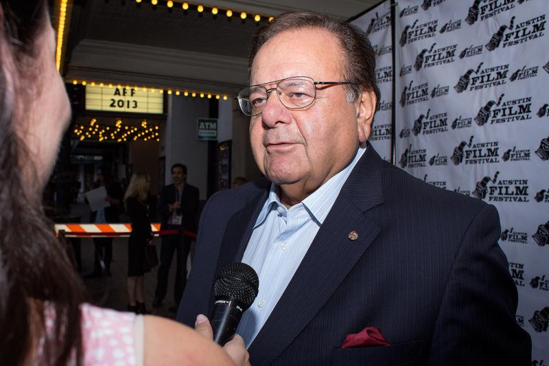 """Actor Paul Sorvino on the red carpet for the Texas premiere of """"Last I Heard."""""""