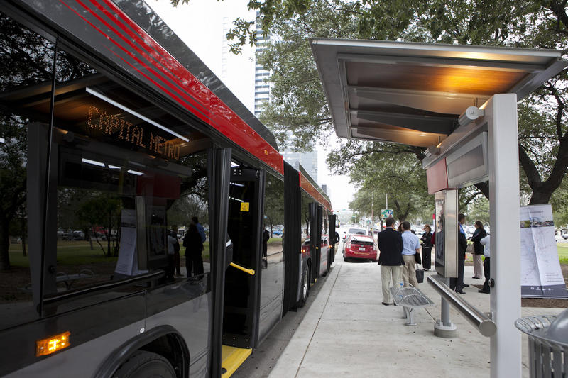 Capital Metro will offer online bus-tracking to allow riders, in addition to increased bike rack space.