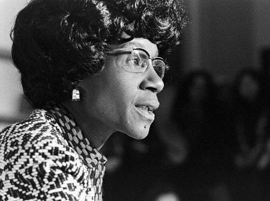The Honorable Shirley A, Chisholm