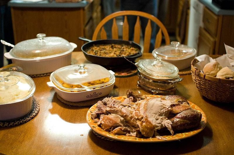 The traditional Thanksgiving fixings cost a lot of energy to produce - and consume.