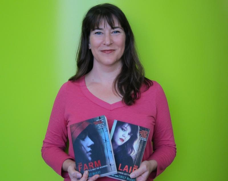 "Emily McKay is the author of ""The Lair,"" the sequel to ""The Farm."""