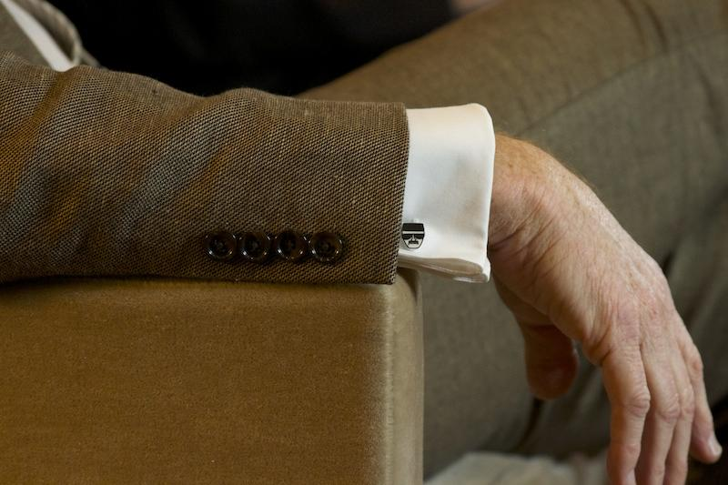 "Cranston doesn't resent his ""Breaking Bad"" character – in fact – he wore ""Heisenberg"" cufflinks."